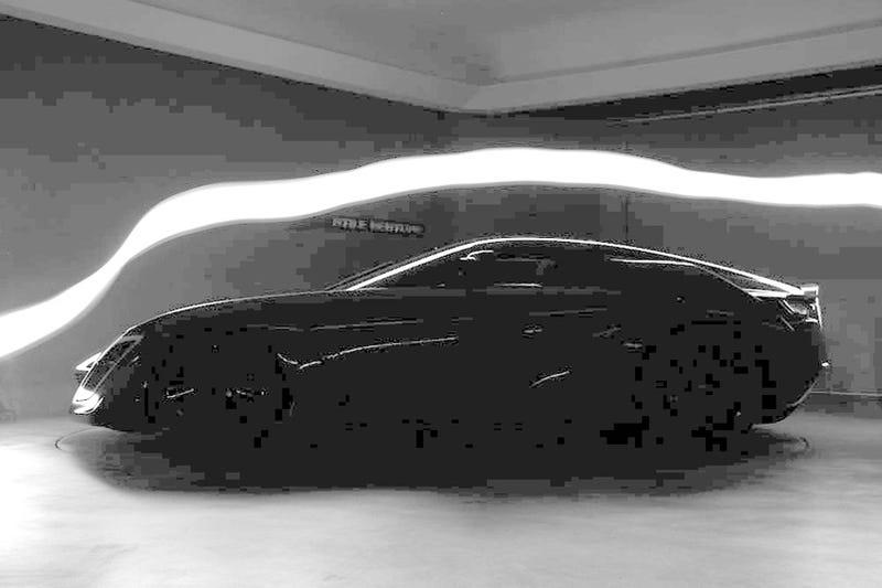 Bertone Mantide Wind-Testing In The Dark