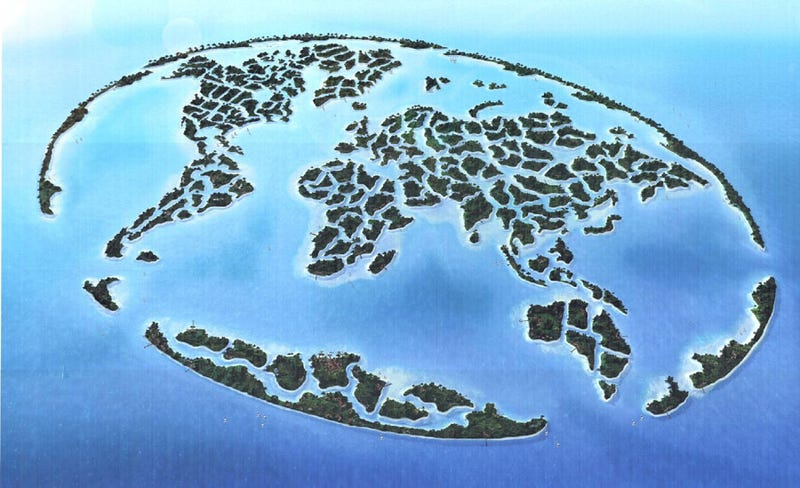 "Design of the First Continent in ""The World"" is Complete"