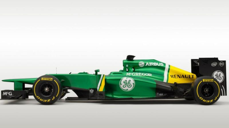 These Two F1 Cars Will Bring Up The Back Of The Grid