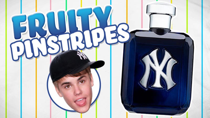 "Our Experts Review The Yankees' New Cologne, The $50 ""Justin Bieber Of Scents"""
