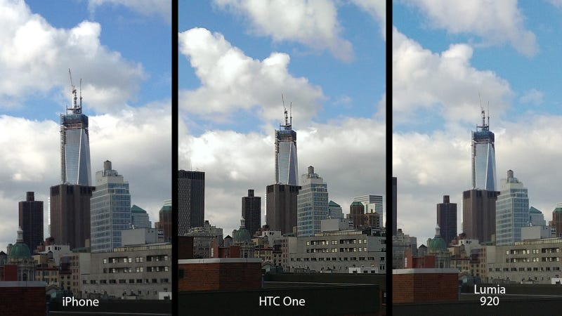 HTC One UltraPixel Camera Versus the Competition