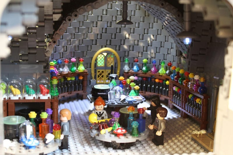 This LEGO Hogwarts includes everything from Snape's classroom to the Chamber of Secrets