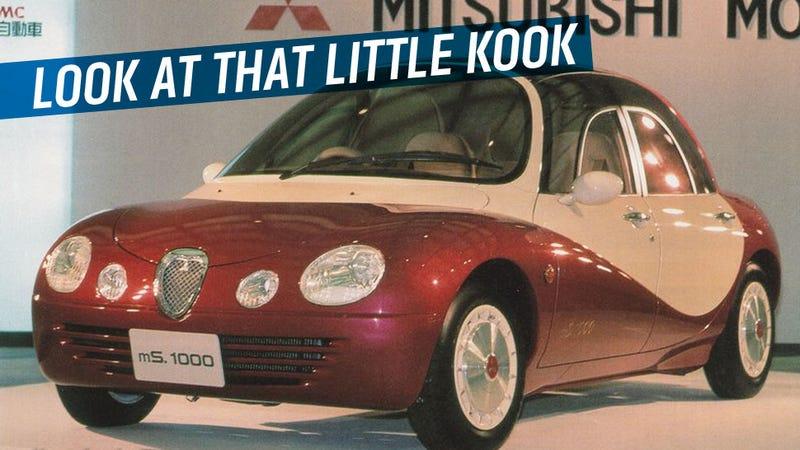 Mitsubishi's 1991 Concept Car Will Make You Wish You Were A Cartoon