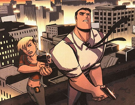 Brian Michael Bendis's Powers is headed to the PSN video service.