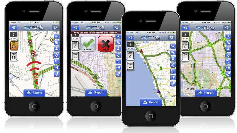 Trapster 4.5 for iPhone finally knows what road you're on