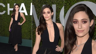 Emmy Rossum Takes the Pl