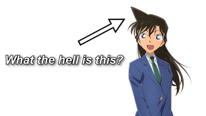 奇妙なアニメの髪型を説明しようとします