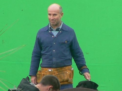 Doctor Who Set Pics — Goodbye Old Sonic Screwdriver!