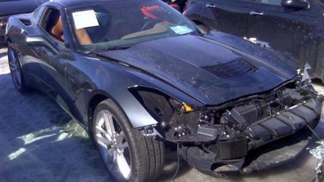 What Would You Do With This Wrecked 2014 Corvette?
