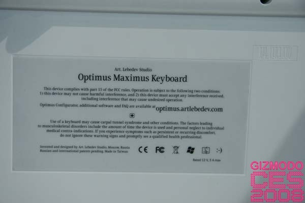 Hands On With Optimus Maximus Keyboard