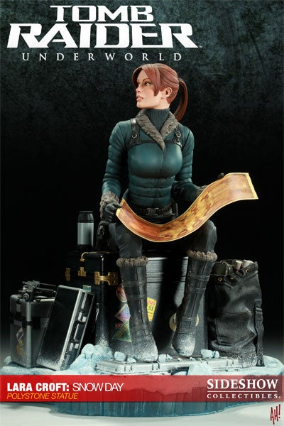 Lara Croft: Snow Day