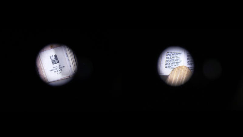 How a Librarian Figured Out What Was Written in This Microscopic Book