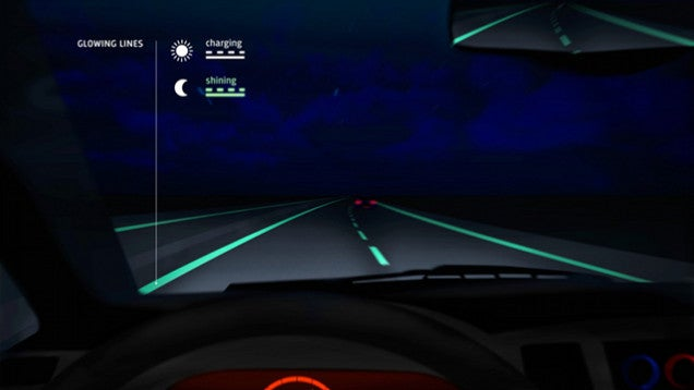 Glow-in-the-Dark Roads Finally Exist Outside of Hot Wheels