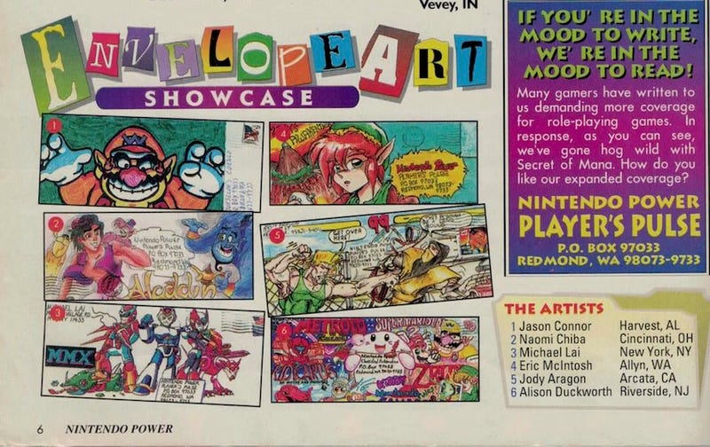 Nintendo Power Helped A Shy Fan Show Her Art To The World