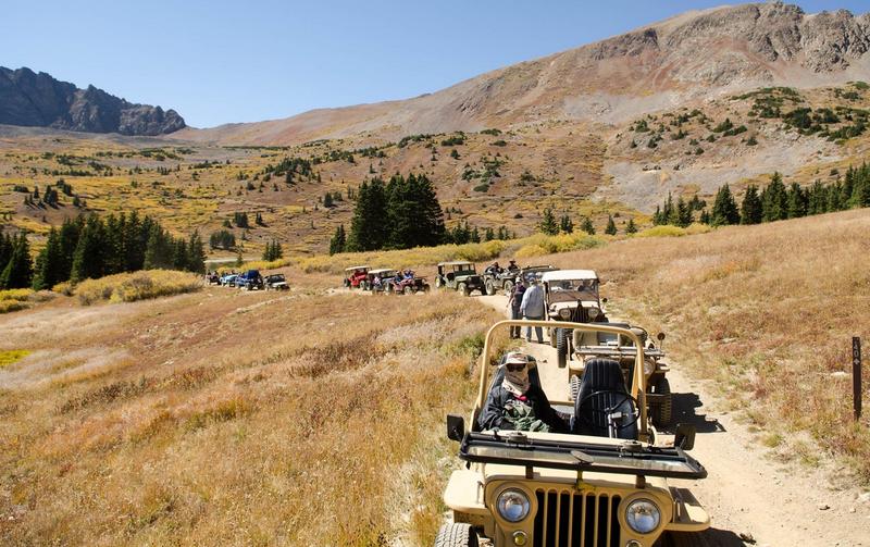 cooler  flat fender jeeps offroading