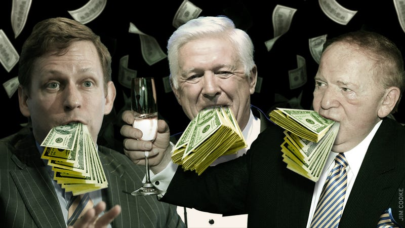How the GOP Primary Became a Contest Among America's Rich Drunk Uncles