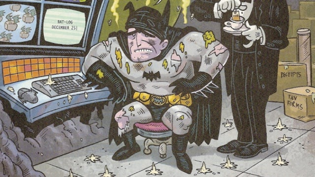 Read Patton Oswalt's rejected pitches for Batman comics