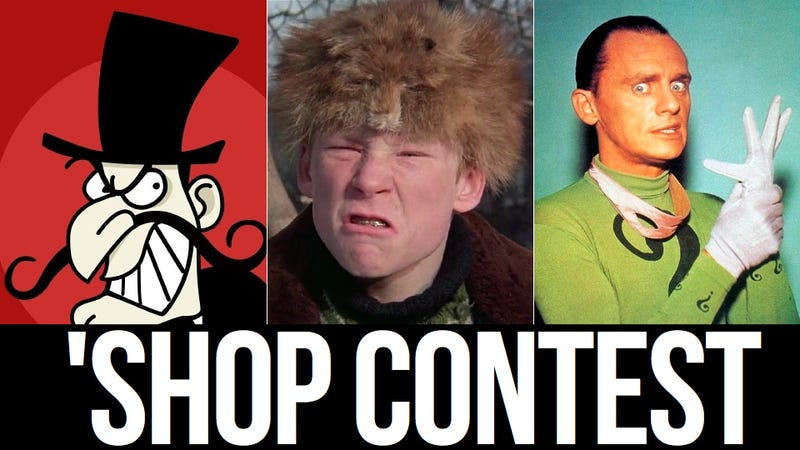 Kotaku 'Shop Contest: The Bad Guys