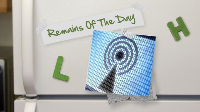 Remains of the Day: FCC Trying to Fill in Mobile Data Gaps