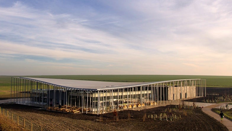 Stonehenge's New Visitor Center Looks Positively Neolithic