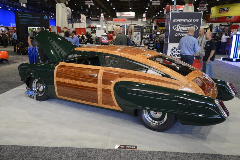 This Custom Bullet-Nose Studebaker Will Give You Wood