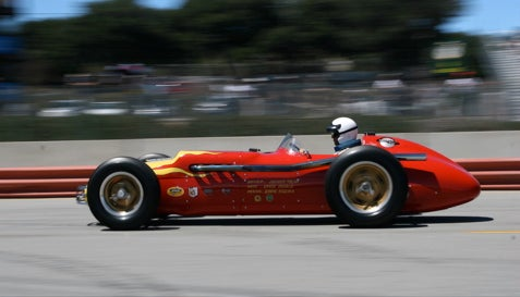 Vintage Indy Roadsters at Monterey Historics