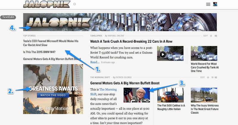 Welcome To The Slightly Tweaked Jalopnik