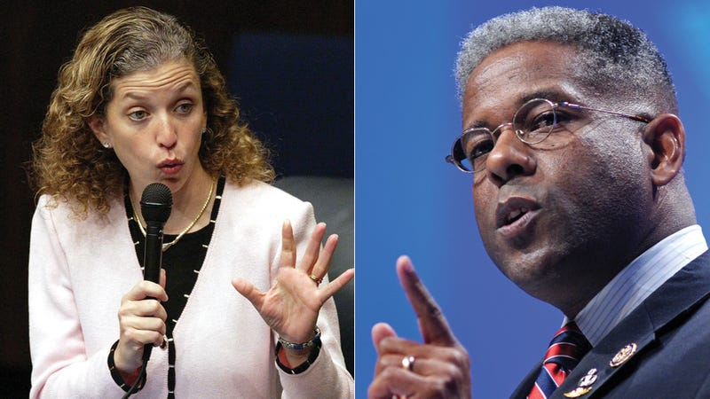 Rep. Allen West Calls DNC Chair 'Vile... Despicable... Not a Lady'