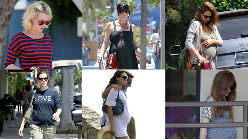 Do You Recognize These Baby Bumps?