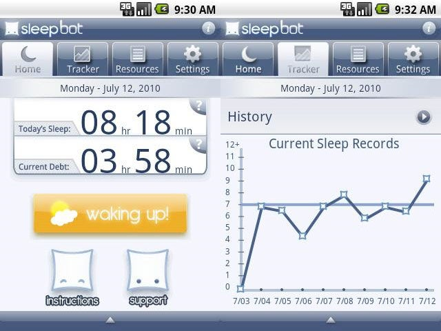 Sleep Bot Tracks, Logs, and Analyzes Your Sleep Patterns