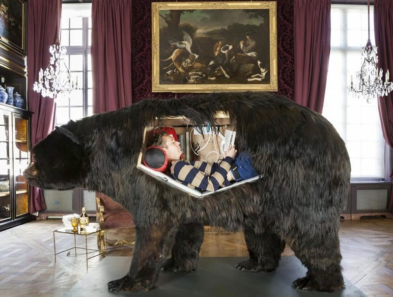 Watch This Stream of An Artist Spending Two Weeks Inside Of A Bear