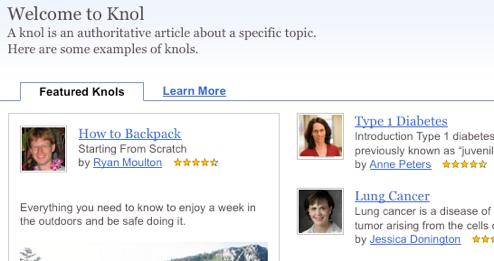 Google Knol Opens Its Doors, Challenges Wikipedia