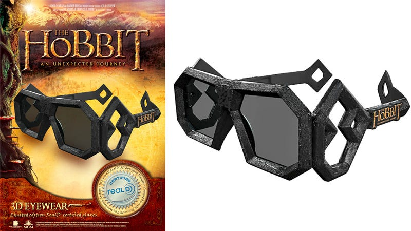 The Hobbit 3D Glasses You'd Pay Extra Not To Wear