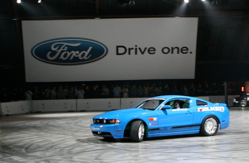 2010 Ford Mustang Unveiled, Live!