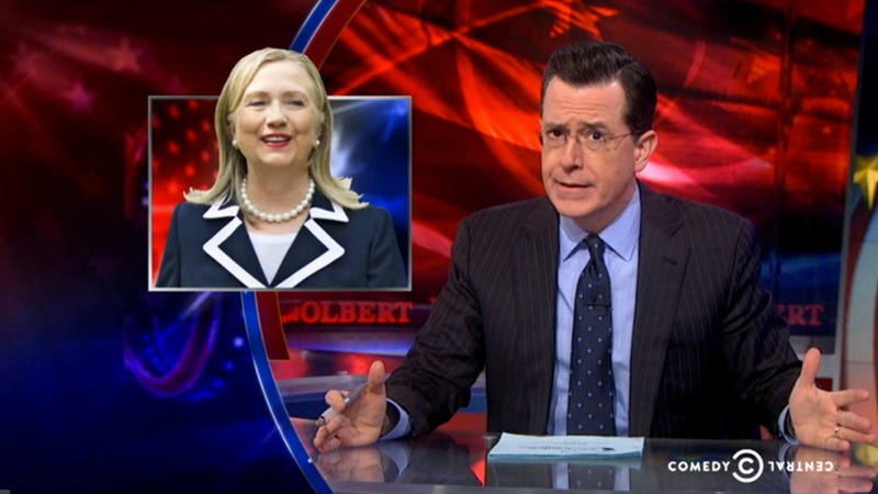 Colbert Expertly Blasts the Right's Fixation on Hillary Clinton's Age