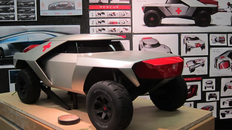 18 Futuristic Concept Cars From The World's Next Great Designers