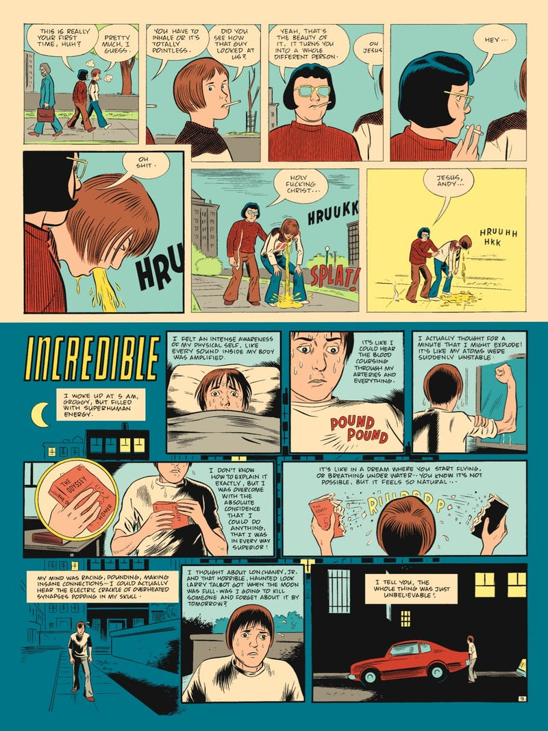 Ghost World's Daniel Clowes tells us about The Death-Ray, his chain-smoking teenage superhero