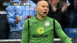 Brad Guzan Boner Delights Manchester City Supporters