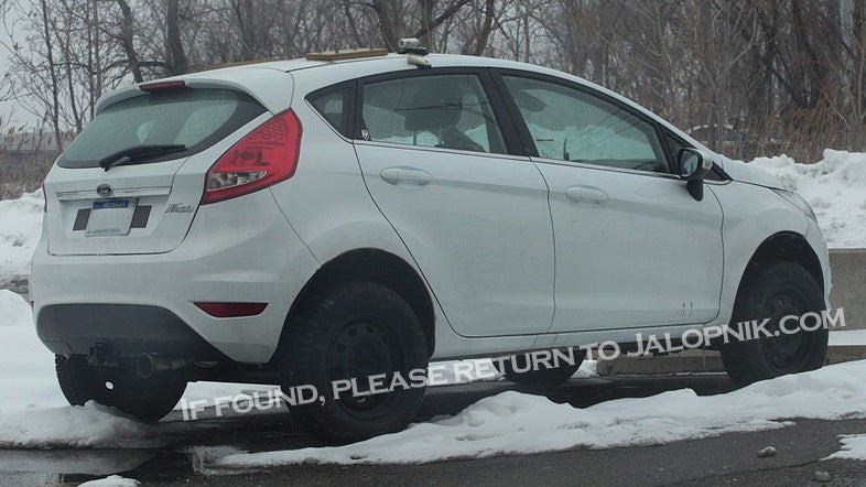 Proof Ford's working on AWD Fiesta-based crossover