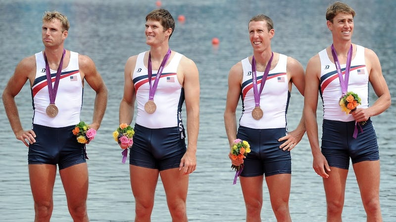 American Rowers: Third Place in Rowing, First in Boners Giant Upright Flaccid Penises [Update]