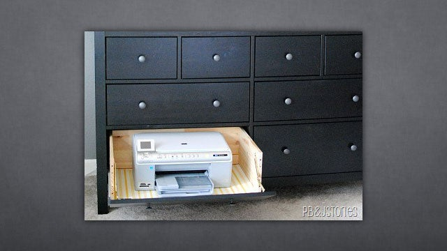 Turn a Drawer Into a Hide-Away Printer for More Space, Less Ugly
