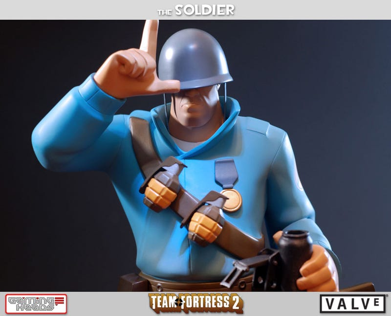 Let's Get A Good Look At You, Team Fortress 2 Soldier