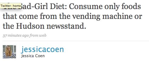 Twitter's Famous-People Diet