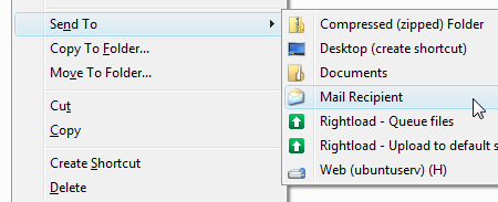 How Do I Attach a File in Gmail From the Windows Context Menu?