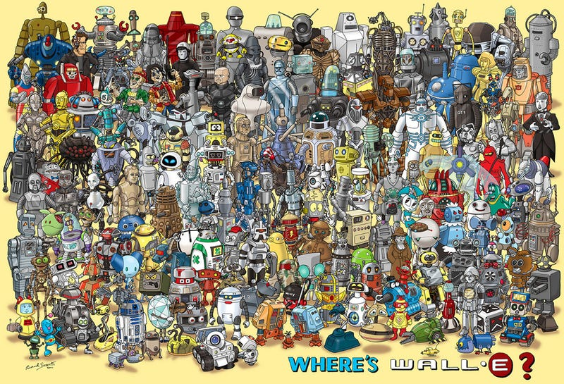 Let's play Where's Wall-E!