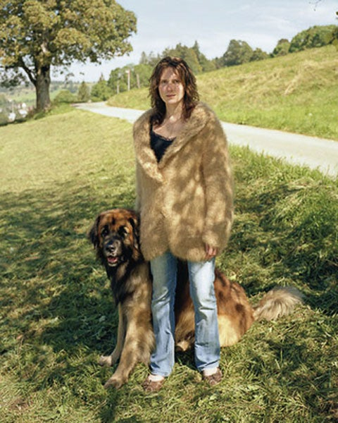 Dog Owners Wearing Sweaters Made From Their Dogs, Or When You've Gone Too Far