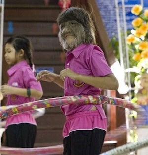 """Happy 11-Year-Old Wins """"Hairiest Girl"""" Title"""