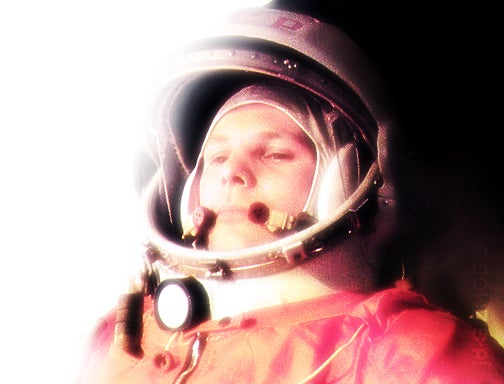 In Honor of Yuri Gagarin, the First Human in Space