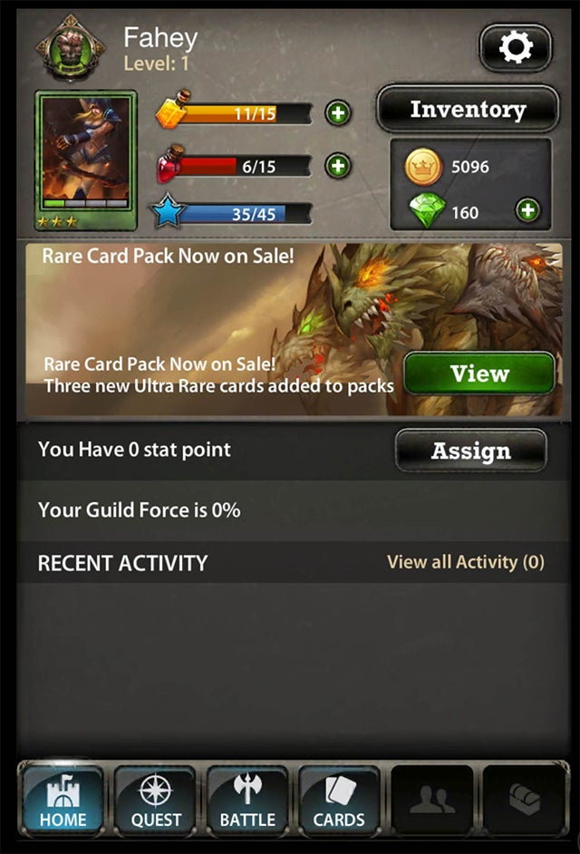War of the Fallen is the Right Way to Make a Mobile Card Battler