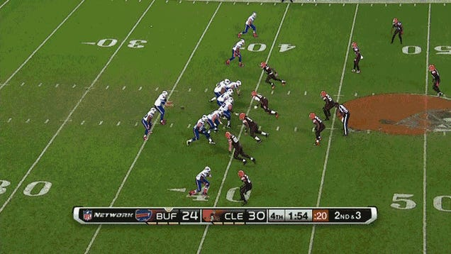 Cleveland Spanks: Your Browns-Bills GIF Roundup